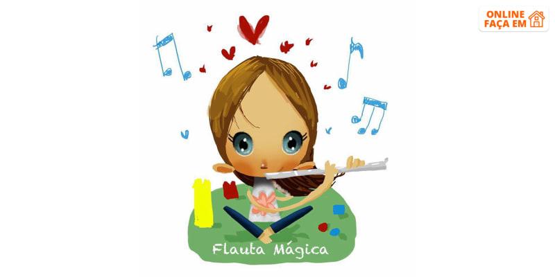 Aula de Expressão Musical 3-6 Anos | Online em Directo - 40 Min | Flauta Mágica