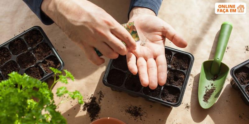 Aula Online em Directo - 1h | Hortas Biológicas - Como Fazer Uma Horta em Casa | Consultua