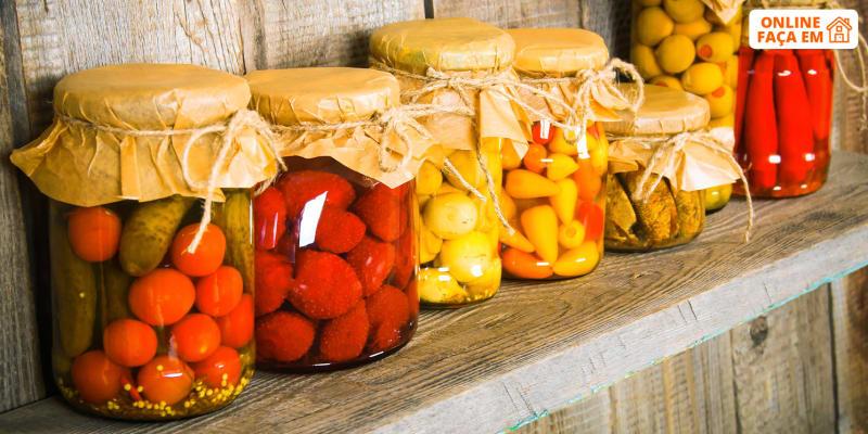 Aula de Fermentação e Preservação Alimentar Online em Directo - 1h30 | Eco Life Experience
