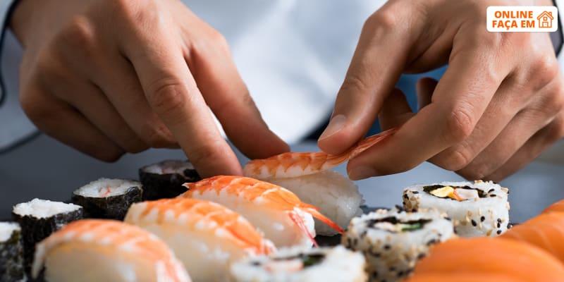 Aula de Sushi Online em Direto - 1h30 | Orienta-te