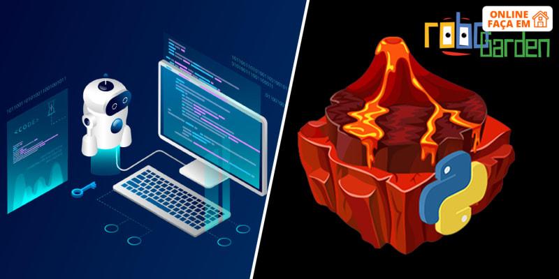 Curso Online de Programação Para Crianças 6-14 Anos | Introdução ao Python com RoboGarden | Teckies