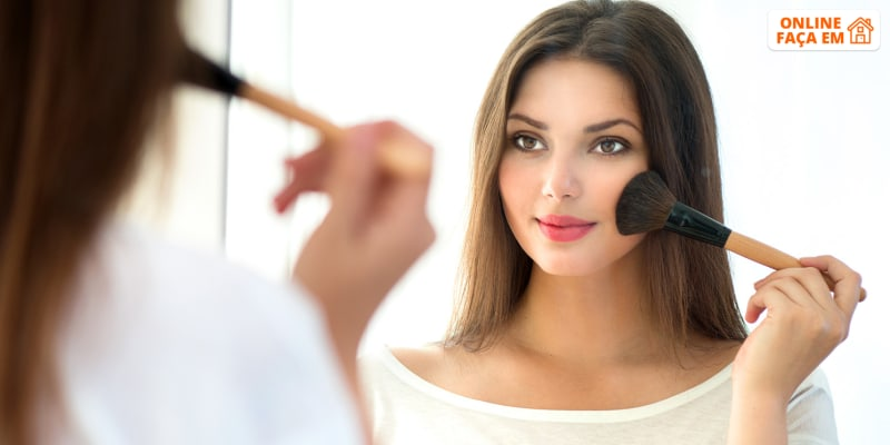 Curso Online de Maquilhagem Profissional - 25 Horas   Lia Cardoso Make Up