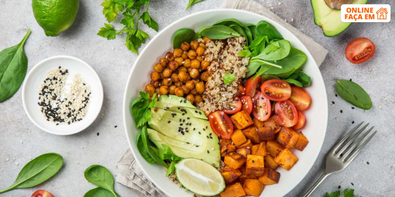 Aula de Refeições Vegetarianas Simples, Rápidas e Fáceis Online em Directo   Raquel Vida