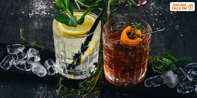 Aula Online em Directo - 1h   Aprenda a Fazer o Melhor Cocktail em Casa   Liquid Kitchen