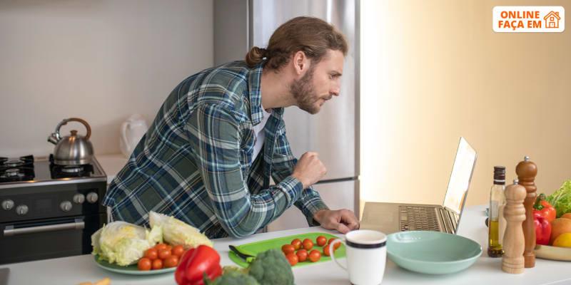 Workshop Online Individual de Cozinha Vegan e Saudável c/ Sessão de Coaching - 1h