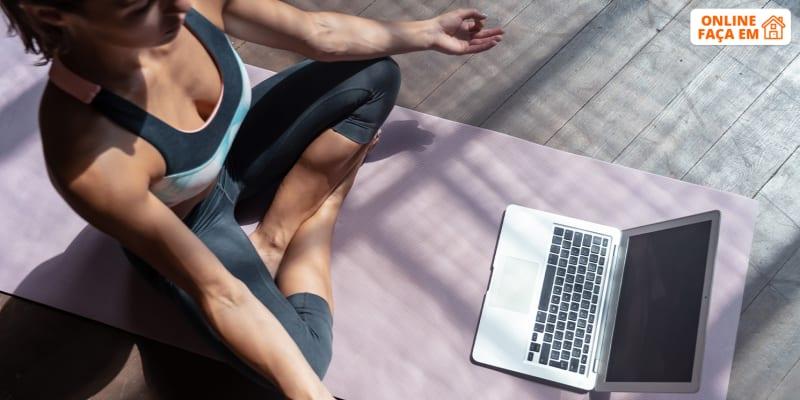 Aula de Yoga Integral e Meditação Online em Directo - 1h15   Padma Yoga