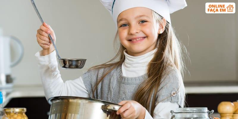 Aula de Cozinha Para Crianças 8-14 Anos Online em Directo - 50 Min   Aprende a Fazer Um Risotto de Frango!