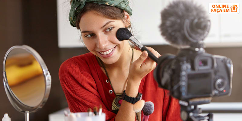 Aula de Auto-Maquilhagem Online em Directo - 1h   Sónia José Makeup Artist