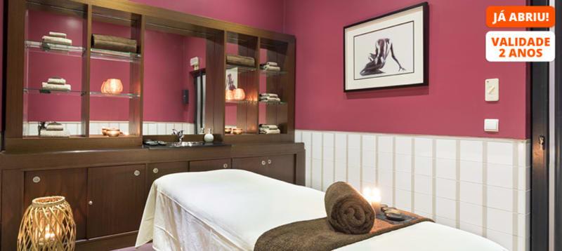 Massagem Relax Corpo Inteiro & Acesso ao Spa   1 ou 2 Pessoas   2h30   Vila Galé Ópera