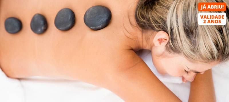 Chocolate & Hot Stones! Acesso Spa + Envolvimento + Massagem   2h45   Vila Galé Ópera