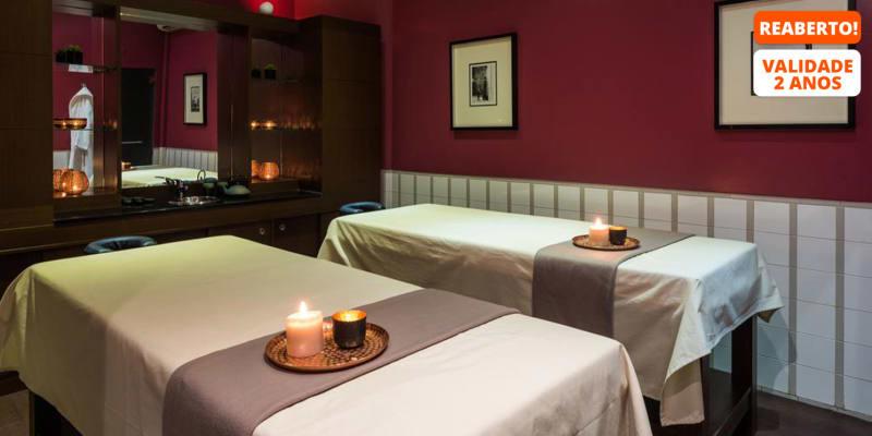Satsanga Spa - Vila Galé Ópera 4* | Acesso ao Spa + Massagem Relax c/ Chocolate a Dois | Alcântara