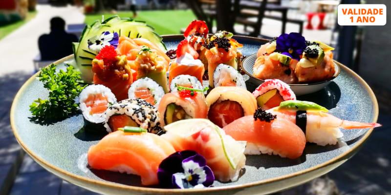 Sushi & Sashimi para Dois! Combinado 50 Peças + Entradas do Chef | Mercado da Romeira - Almada