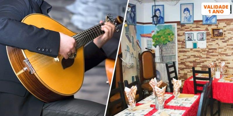 Jantar Tradicional a Dois c/ Espectáculo de Fado em Bairro Típico Lisboeta | Porta d Alfama