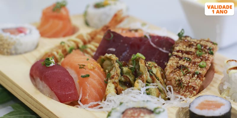 All You Can Eat de Sushi para Dois! SushiTall - Qta. do Conde