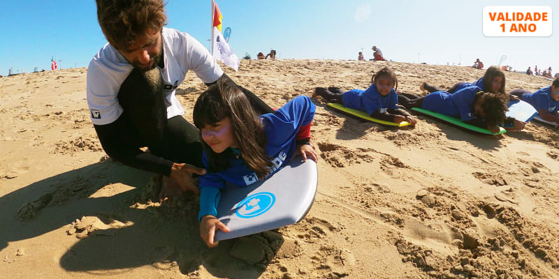 Baptismo de Bodyboard na Praia de Carcavelos - 1 ou 2 Pessoas   Pride Training