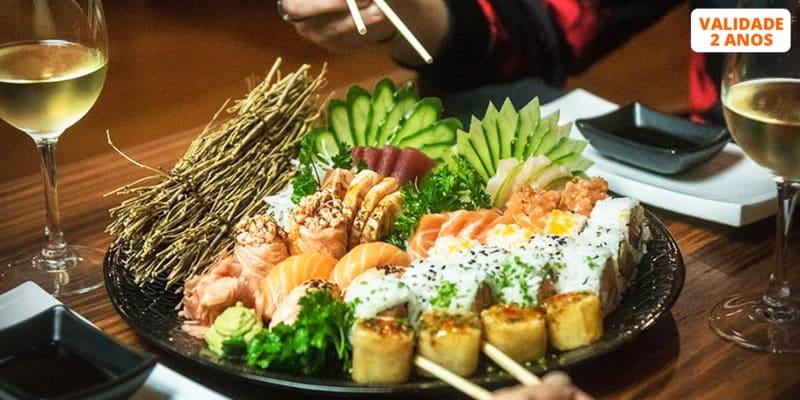 Combinado de 40 Peças de Sushi & Sashimi c/ Sangria para Dois | Mokuzai Lounge - Lisboa