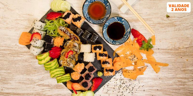 All You Can Eat de Sushi e Sashimi para Dois! Rendalls Place - Lisboa