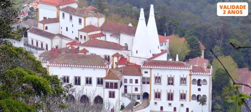 Sintra Encantadora a Dois! Tour em Carrinha + Travesseiro + Opção Visita a Cascais e Estoril | Até 8 Horas