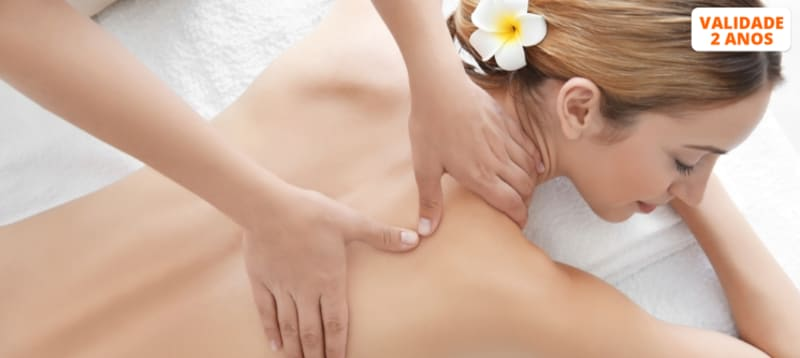 Acalme Corpo e Mente! Massagem à Escolha | 1 Hora | Amora