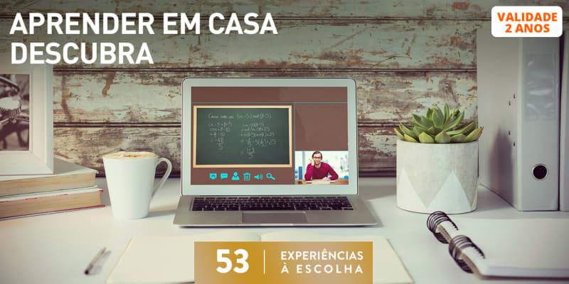 Aprender Em Casa -  Descubra | 53 Experiências à Escolha
