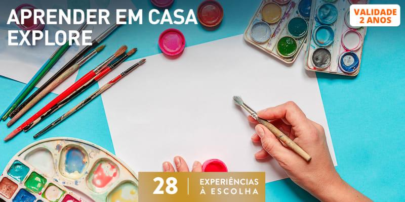 Aprender Em Casa -  Explore | 28 Experiências à Escolha