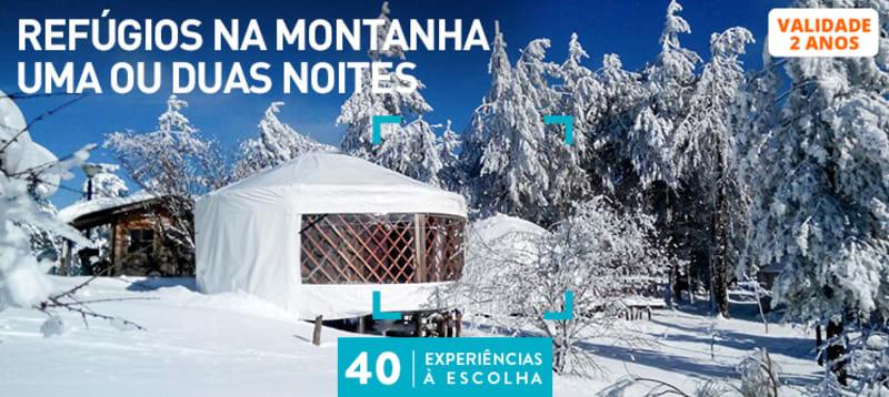 Refúgios na Montanha Uma ou Duas Noites | 40 Estadias à Escolha