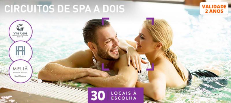 Circuitos de Spa a Dois | 30 Locais à Escolha em Todo o País