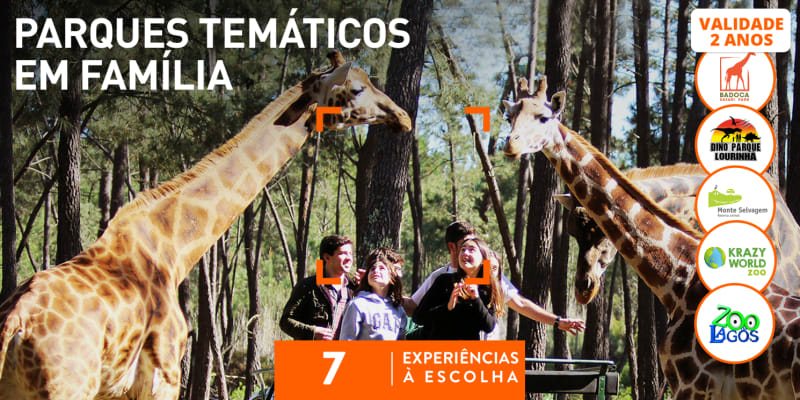 Parques Temáticos em Família | 7 Actividades à Escolha