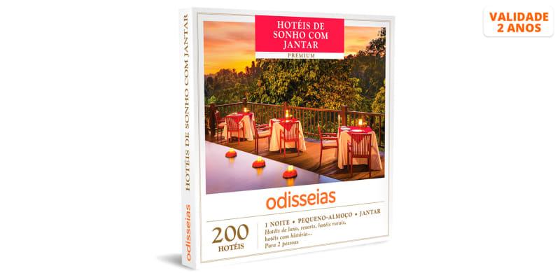 Hotéis de Sonho com Jantar | 200 Hotéis