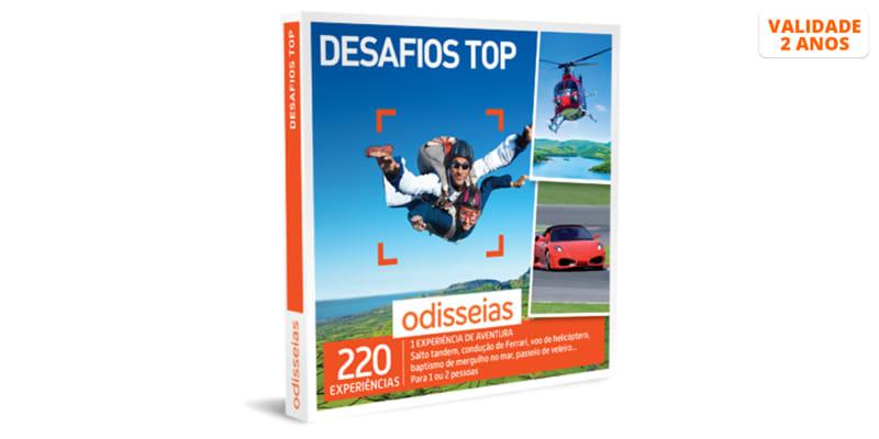 Desafios Top | 220 Experiências