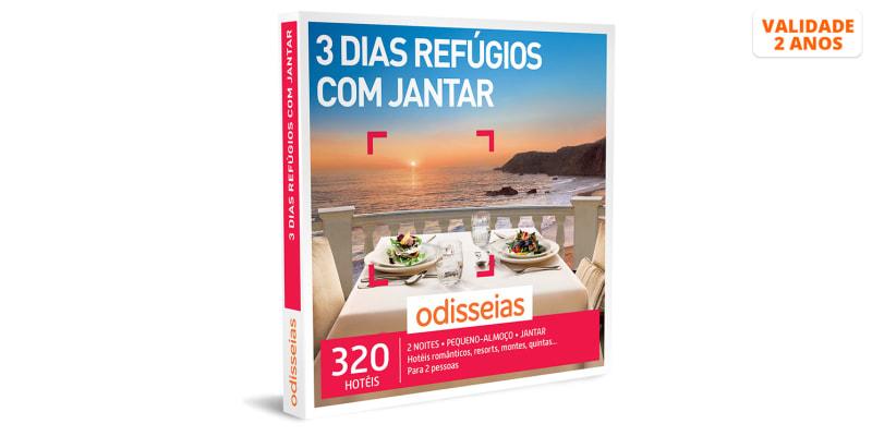 3 Dias Refúgios com Jantar | 320 Hotéis