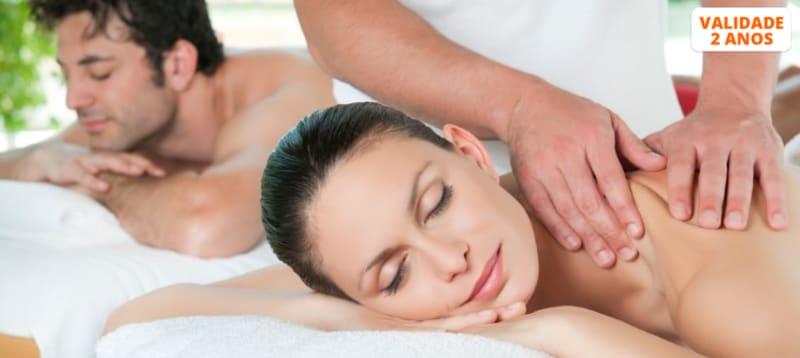 Massagem de Relaxamento com Óleos à Escolha a Dois   Matosinhos
