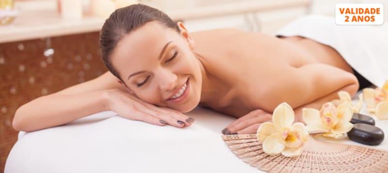Massagem à Escolha & Ritual Chá   30 Minutos - Laranjeiras
