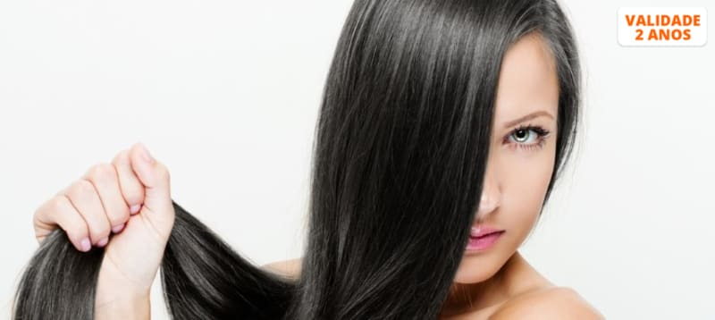 Botox ou Peeling Capilar + Brushing - Cabelos Fortes e Brilhantes   Gaia