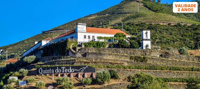 Tour no Douro para Dois com Prova de Vinho e Visita ao Pinhão | 2 Horas