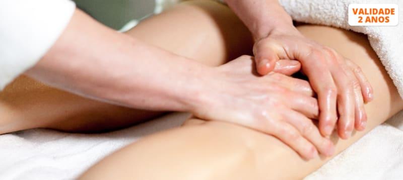 Adeus Casca de Laranja! 2 ou 4 Massagens Anticelulíticas Manuais com Electroestimulação   Leça da Palmeira