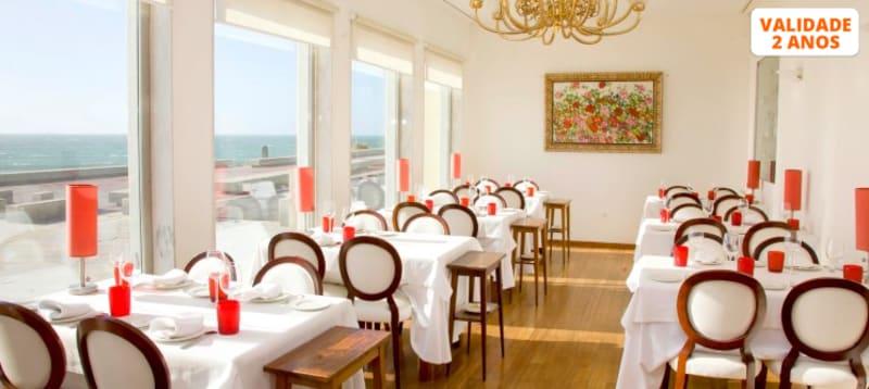 Jantar Romântico Vista Mar | Restaurante Casa Branca by Golden Tulip Porto Gaia Hotel & SPA