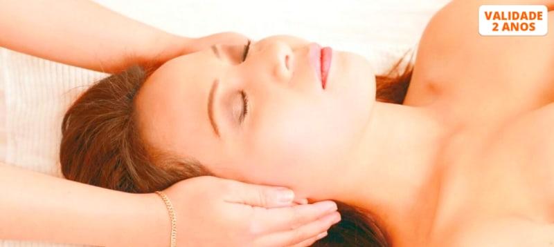 Massagem de Relaxamento & Sessão Reiki 1 Hora   1 ou 2 Pessoas   Setúbal