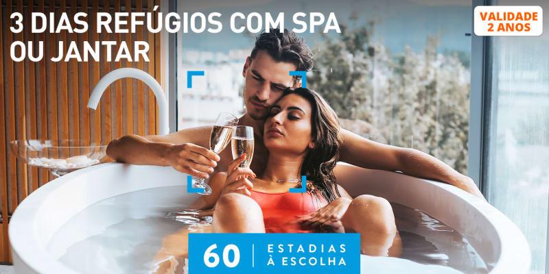 3 Dias Refúgios com Spa ou Jantar | 60 Estadias à Escolha