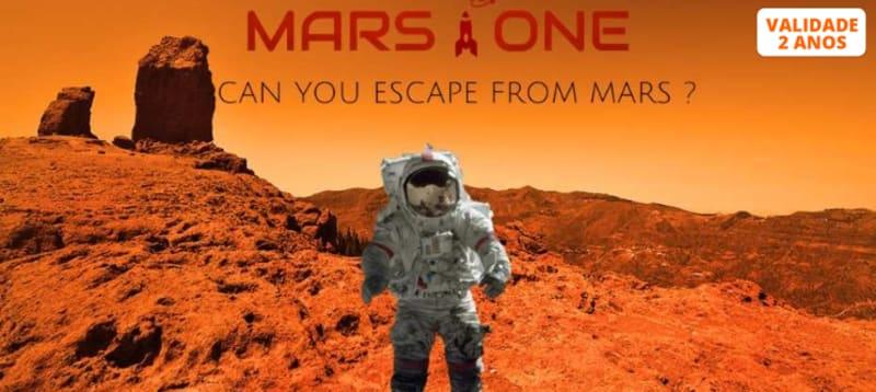 Missão 'Mars One' Escape Game para Dois   Escape Adventures - Porto