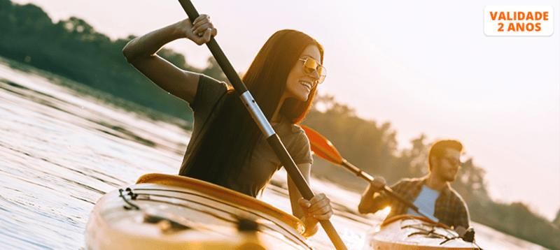 Descida do Rio Mondego em Kayak + Coffee-break | 1 ou 2 Pessoas | Coimbra