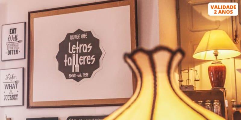 Tradição & História à Mesa para Dois   Letras & Talheres - Seixal