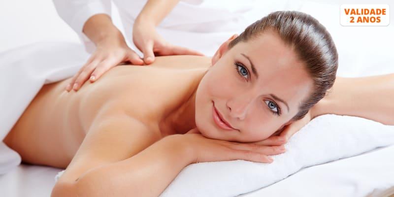 Uma Fuga de Bem-Estar! Massagem de Relaxamento - 45 Minutos | Factory Hair Artisans II - Lisboa