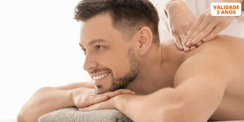 Momento Relaxante Para Ele! Massagem à Escolha - 1 Hora | Avenida 5 de Outubro