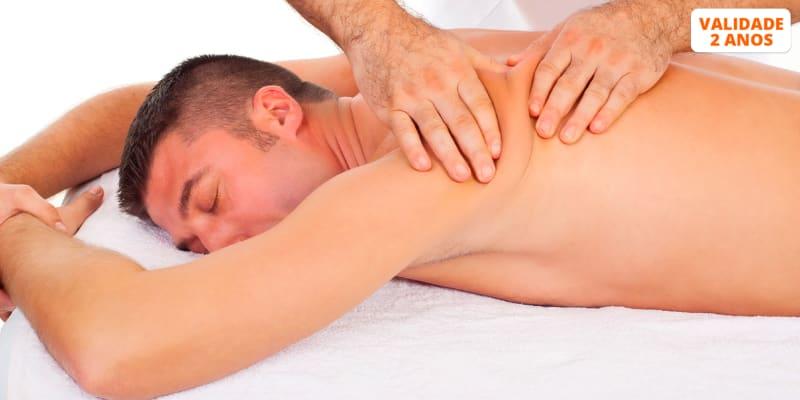 Puro Relaxamento! Massagem à Escolha Para Ele - 1 Hora | Campo Pequeno