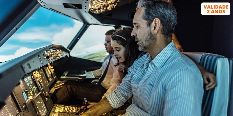 FLIGHT CONCEPT - Simulador de Voo 1 Hora | Venha Pilotar um AIRBUS A320! Tires