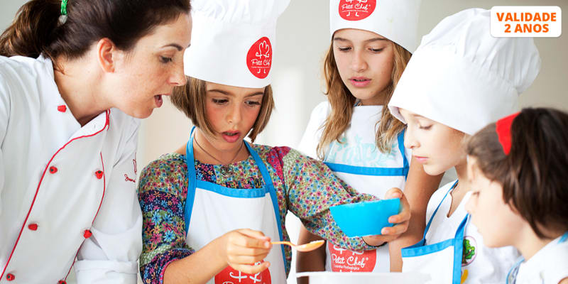 Workshop Petit Chef - As Melhores Receitas para Crianças c/ chef Joana Byscaia - 1h30 | Oeiras