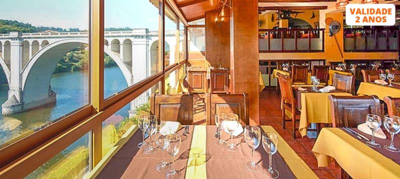 Jantar Romântico c/ Vista Rio   Ponte de Pedra - Marco de Canaveses