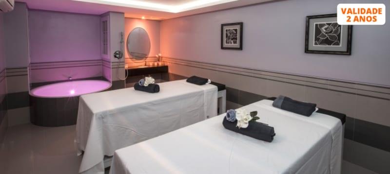 Water Experience 4* + Romantic Massage para Casal   2 Spa Satsanga