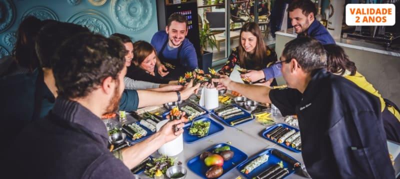 Workshop Sushi Premium Experience - Tudo Incluído | Confecção e Degustação - 4 Locais